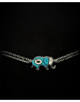 Chance elephant Silver Bracelet