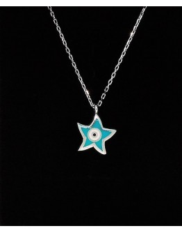 Star Silver Pendant