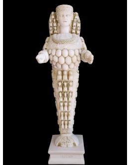 Beautiful Artemis (Original pedestal)
